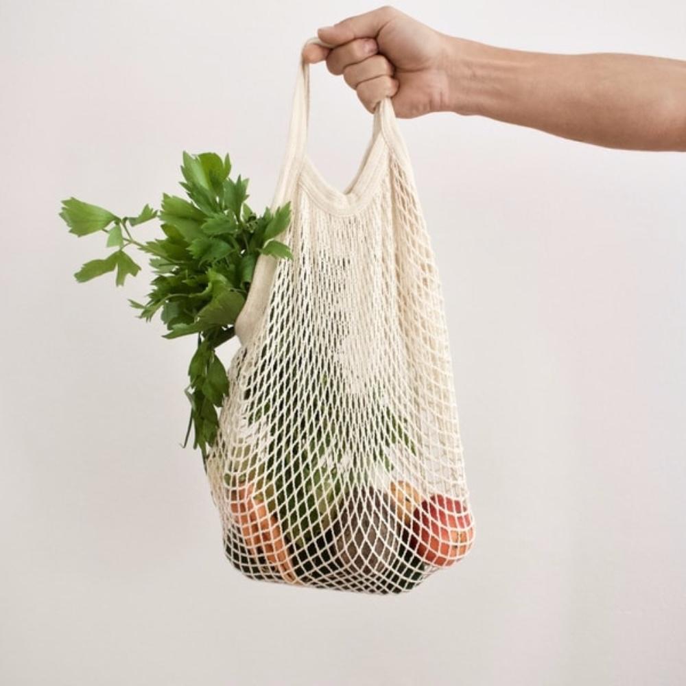 Zerowaste. Domácnost bez odpadu. Látková nákupní taška. Síťovka. Jak začít se zerowaste.