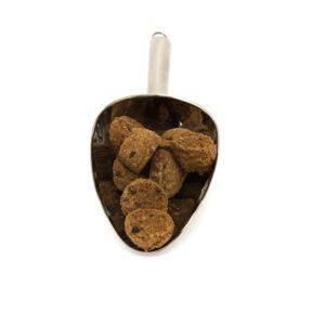 Nerezová lopatka s čokoládovými kokoskami s fair trade čokoládou v Bio kvalitě.