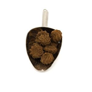 Nerezová lopatka s kávovými sušenkami s kokosem v BIO kvalitě.