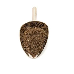 Nerezová lopatka s lnem hnědým v BIO kvalitě.