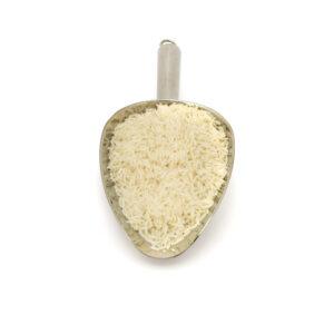 Nerezová lopatka s rýží jasmínovou v BIO kvalitě.